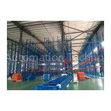 High Height Drive In Pallet Racking System , Commercial Pallet Rack Storage Systems With Corrosion P