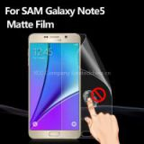 Premium Guard Anti Fingerprint Anti Glare matte screen protector film for mobile phone for Samsung Galaxy Note5