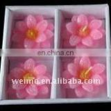 Floating Flower Hotel decoration candle