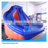 cheap price sport inflatable pool basketball hoop for rental