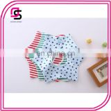 Cute design for babies trendy cotton soft waterproof baby bandana bib