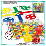 Educational Intelligence Cheap 2-4 Player Ludo Board Game Set