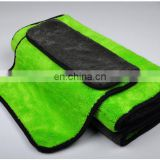 Wholesale custom microfiber coral velvet car wash towel