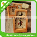 2015 new design wholesale wooden alarm clock as best gifts