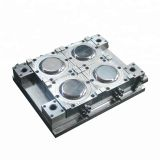 4-cavity disposable container plate injection mold