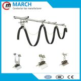 High quality electric beam trolley festoon c-track cable trolley