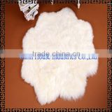 100% Australian Sheepskin Flower Shaped Rug