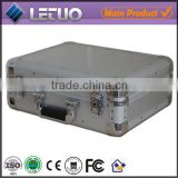 Aluminum china wholesale 1000 cd dvd aluminum storage case anti-shock flight case To Fit 100 CD's