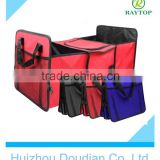 High quantiry foldable car trunk orgarizer/Picnic Fabric Bag