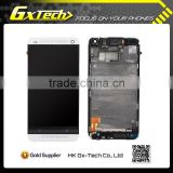 phone parts For HTC One M7 front touch with lcd glass
