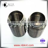 "1.75"" Auto exhaust system flexible pipes with inter-lock offer from Ningbo Connect in China"