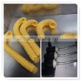 Stainless steel Korean cane ice cream corn stick making machine/ice cream corn stick extruder