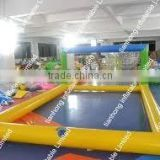inflatable volleyball field