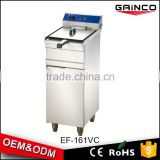 modern kitchen equipment 16L electric chicken chips deep fryer with cabinet EF-161V/C