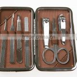 Nail Clipper Slant tip/Scissor/Nail Clipper/Nail File/Tweezer/Cuticle Trimmer /Earwax picker