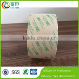 Strong stick 3M double sided transparent masking Tapes with rubber glue