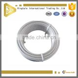 7X7 High tensile stainless steel wire rope