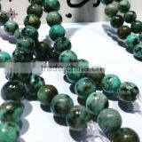 polished natural precious African Turquoise 4-12mm gemstone loose beads