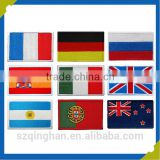 Custom embroidery Technics patch Iron-on or sew-on 3D Embroidered flag patches badges manufacturer