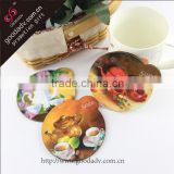 China low price new product coffee pattern coaster