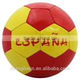 stocking a lot promotion machine stitched football cheap soccer ball