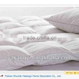100%cotton cover micro gel fiber filling compress package mattress topper