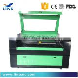 New designed link cnc laser machine lxj-1610/fabric laser cutting machine/glass laser engraving machine