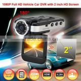 Alibaba Hot sale NTK 2inch with IR light 1080p hd japan av video 360 view car camera system