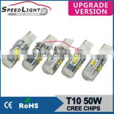 Promotion Hot Selling SpeedLight T10 W5W LED Bulb For Car Front Rear Signal Lights