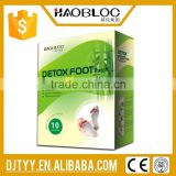 Alibaba Express Chinese Medical Transdermal Detox Foot Patch Supplier