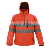 multi-function reflective visibilility safety and rescue workwear waterproof and cold-resistance
