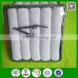 China supplier oem 10x10 cotton terry disposable aviation towels