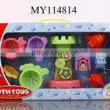 OEM and wholesale Baby bath toy set boat bath toy unique bath toys customized logo