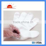 LDPE or HDPE Material Disposable PE Gloves