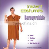 New fashion barney rubble fancy dress instant costume