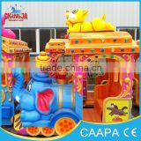 CE beautiful 14 seats electric mini train amusement park toy train