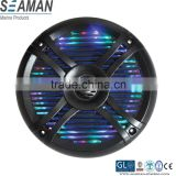 RGB led 5.25 inch component style 2-way stereo Waterproof Marine Speakers with remote controller for Boat,yacht,SPA,ATV,UTV
