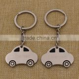 Zine Alloy Car Shape Keychain with Custom Print or Laser Logo on Personlized Car Shape Metal keychain                                                                         Quality Choice