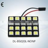 LED Auto Light Dome Lamp No Polarity 20SMD 5050 with CE