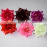 silk flower heads for wedding gate,ball,wreath,bouquet flower heads