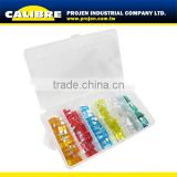 CALIBRE SAE standard 120pc Assorted colored Car Fuse set auto fuse Set