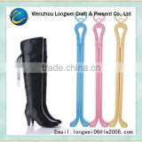 size 34 boot plastic shoe tree wholesale/plastic shoe keepers/bamboo shoe rack