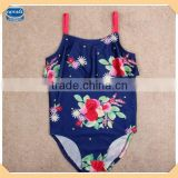 (R4763) navy 18M-6Y nova children elegant beach wear beautiful girls sexy swimwear for kids