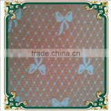 Latest butterfly flower lace fabric for wedding dress