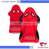 Guangzhou China Supplier for Red Cloth Car Racing Bucket Seats