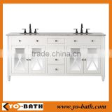 60 inch fancy bathroom vanity with marble countertop                                                                         Quality Choice