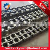 Manufacture stainless steel double conveyor roller chain and chain link with the best price