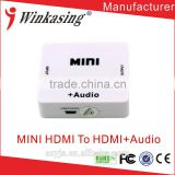 Using for headphone for splitter /amplifier MINI HDMI to HDMI AUDIO+ Audio Converter YJS-HDMI/AV