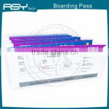 Thermal Paper Airline Boarding Pass Printing