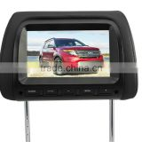 Motorized lcd car monitor universal car headrest monitor